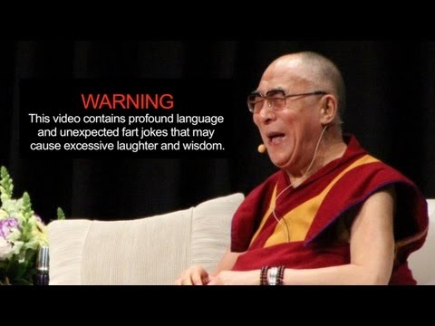 Dalai Lama: Friendship, fear and farting