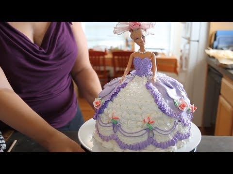 Barbie Doll / Princess Cake
