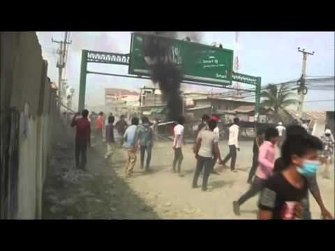 Clashes In Cambodia With Garment Workers Turns Deadly