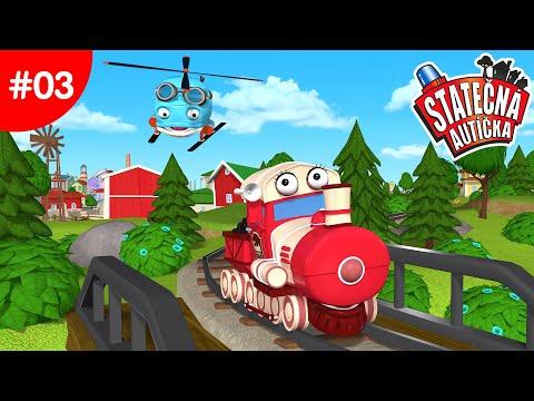 Statočné autíčka - Veľké vlakové dobrodružstvo