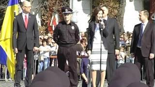 Перший заступник Міністра внутрішніх справ України Ека Згуладзе Немаеє роботи більш достойної, ніж робота поліцейського