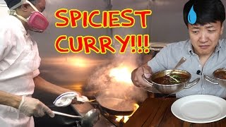 The SPICIEST Curry in The WORLD Challenge! Carolina Reapers!!