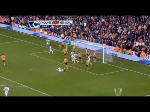 Wolves 1 5 West Brom - Premier League 2012