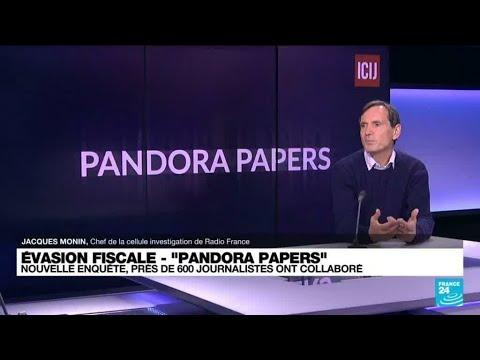"""""""Pandora papers"""" : plusieurs chefs de gouvernement épinglés pour évasion fiscale • FRANCE 24"""