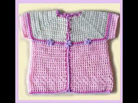 Chambritas para bebé tejidas a gancho paso a paso - Imagui