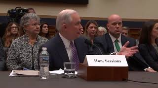 Gowdy questions Attorney General Jeff Sessions
