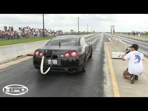 World Record - AMS GTR - 8.62@173mph - TX2K12