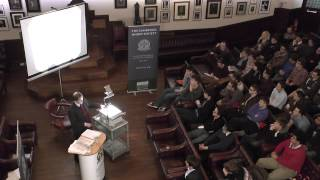 Roger Penrose at the Cambridge Union Society