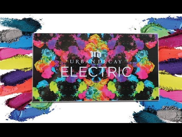 URBAN DECAY ELECTRICS PALETTE REVIEW/SWATCHES