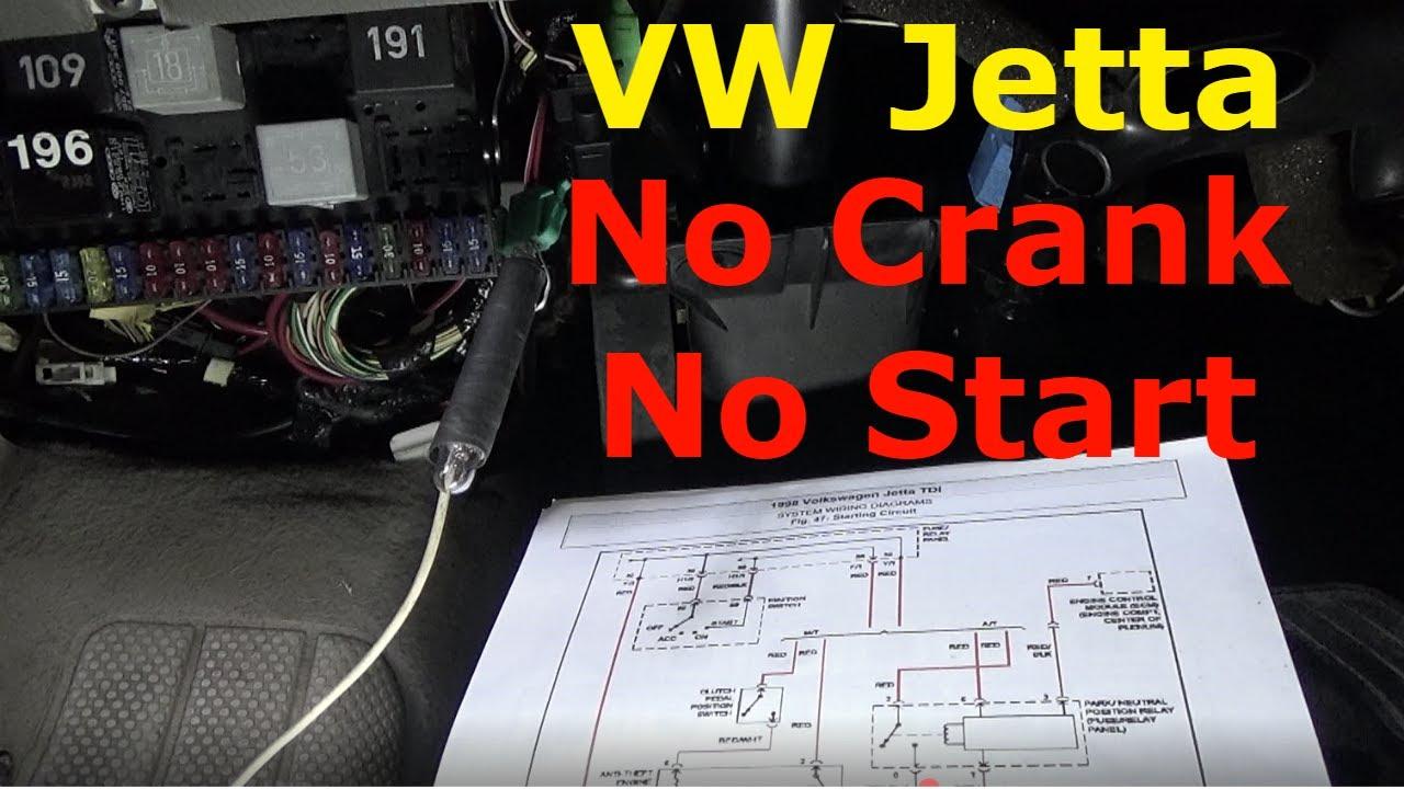 jetta starter schematic wiring diagram Jetta Starter Schematic