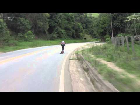 Bueno downhill longboarding raw run