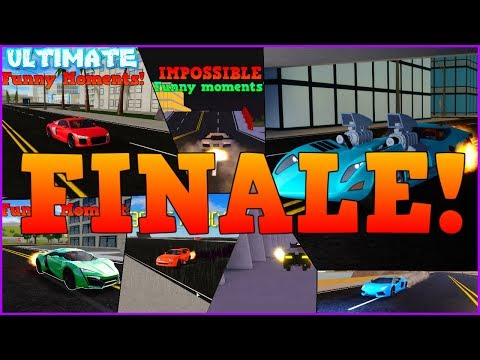 FINALE! | Stunts, Funny moments and glitches! | ROBLOX: Vehicle Simulator