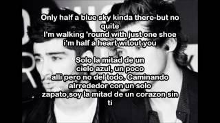 One Direction-Half A Heart (letra En Ingles Y Español