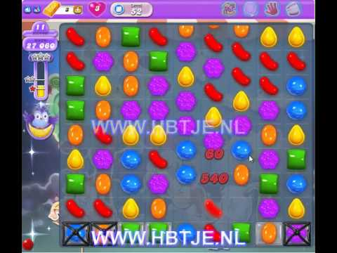 Candy Crush Saga Dreamworld level 52