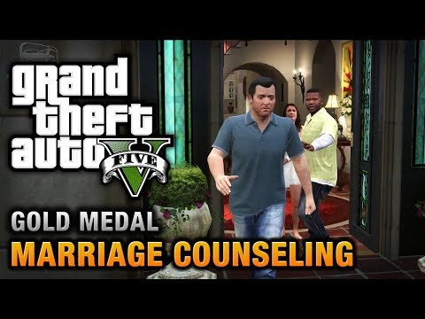 GTA 5 - Mission #6 - Marriage Counseling [100% Gold Medal Walkthrough],