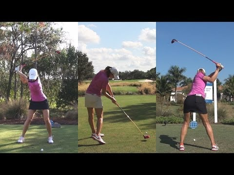 MICHELLE WIE - ULTIMATE GOLF SWING COMPILATION LATE 2013 - REG & SLOW MOTION 1080p HD
