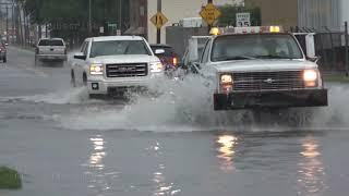 Flash Flooding Inundates Wichita, KS - 6/18/2019