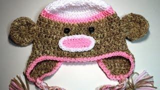 #Gorro De Mono En #crochet Video 2