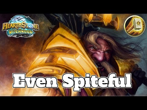 Even Spiteful Midrange Paladin Witchwood | Hearthstone Guide How To Play