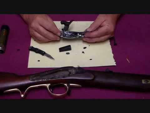 Expedient Back-Action Lock Repair on the Brunswick Rifle