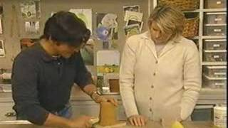 Martha Stewart Shows How To Make Candle Molds Out Of PMC