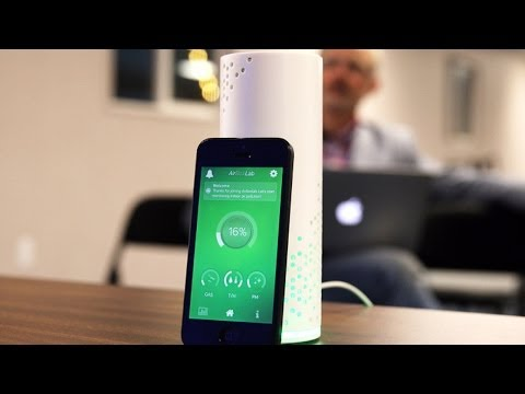 Alima Air Quality Monitor |  CES 2014 Hardware Battlefield