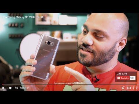 Samsung Galaxy S8 Real Reviews
