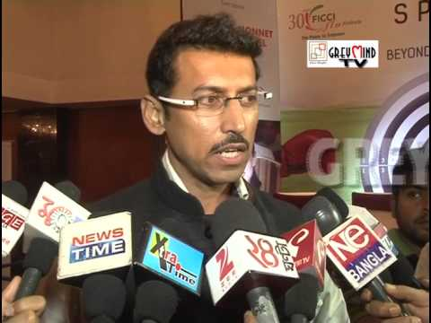 Rajyavardhan Singh Rathore peeps his view regarding Sourav Ganguly's political future!