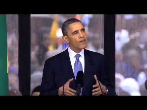 FULL HD Obama Speech Statement World Leaders Gather Mandela Memorial South Africans!