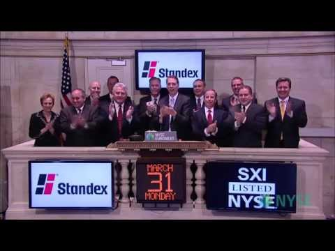 Standex Celebrates 45th Anniversary of Listing at the New York Stock Exchange