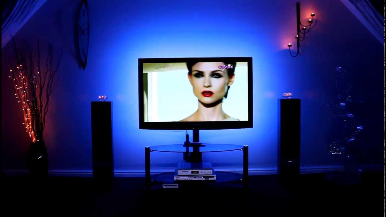 Home Cinema Lighting Rgb Led Lights For Tv Youtube