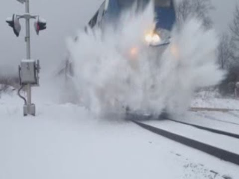 Norfolk Southern And Amtrak Train Snow Blasts Boy At Crossing