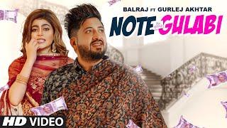 Note Gulabi Balraj Gurlej Akhtar Video HD Download New Video HD