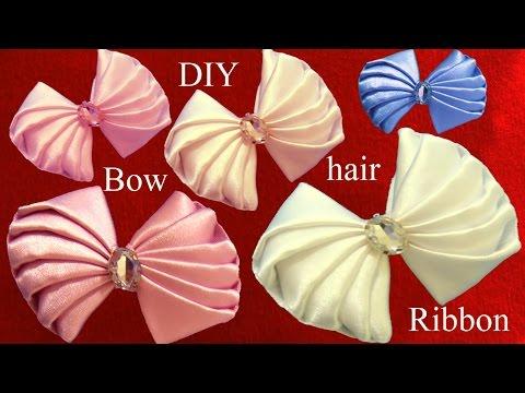 Como hacer un lazo moderno fino elegante fácil para el cabello