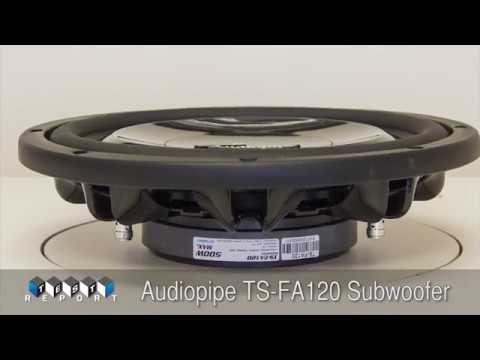 Audiopipe TS-FA120 Subwoofer Review
