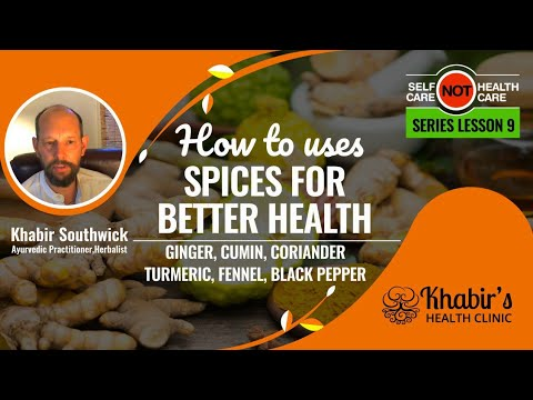 Improve your Digestion Quickly with Spices, #9 of Self-care NOT health-care Series