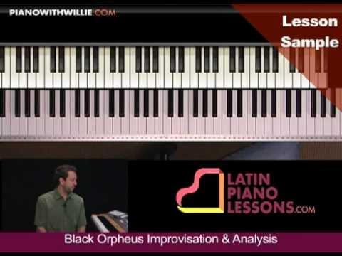 PianoWithWillie.com-ex1-Luiz Bonfa Manha De Carnaval Black Orpheus (ORPHEUS1)