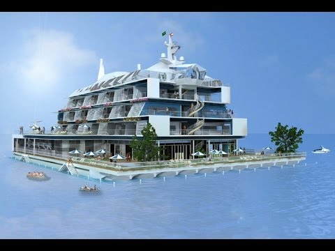 Beirut International Floating Island Presentation