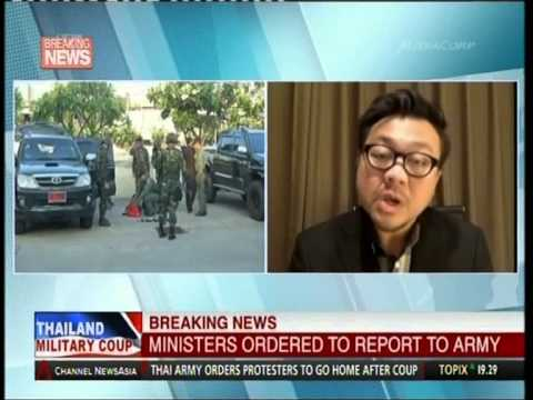 Channel News Asia - 22 May 2014 - Breaking News - Thailand Military Coup