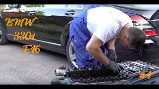 BMW /// 330d /// E46 Замена свечей накаливания и попытка поменять вихревые заслонки Денис Рем Дестакар