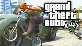GTA 5 Online - IMPOSSIBLE IMPOUND LOT! (GTA V Online)