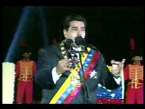 Maduro sobre actos violentos en Caracas