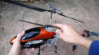 9053 Volitation (and DH 9101) RC Helicopter Modifications