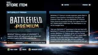 How To Get BF3 Premium Free (No Codes/Xbox360/HD)