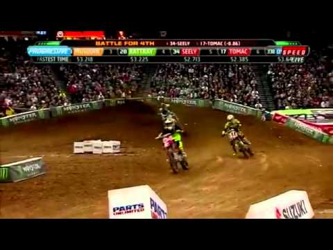 2012 Ama Supercross Monster Energy Lites Main Round 2 Phoenix.
