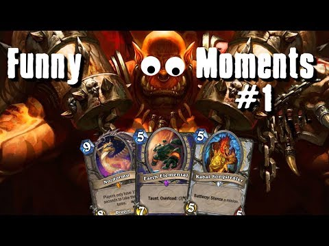 Hearthstone - Funny Moments#1