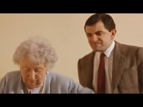 Mr Bean - Taking the stairs -- Die Treppe nehmen, OFFICIAL MR BEAN. Mr Bean has to take the stairs at his hotel but get stuck behind a really slow old lady. From Mr Bean in Room 426. Welcome to the Official ...