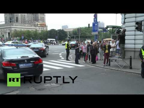 Poland: Poroshenko departs from discussions with Obama