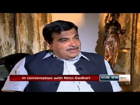 Nitin Gadkari in 'The Quest'