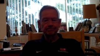 Interview w/SJU Head Basketball Coach Jim Smith - 2014 Gustavus/MIAC Playoffs
